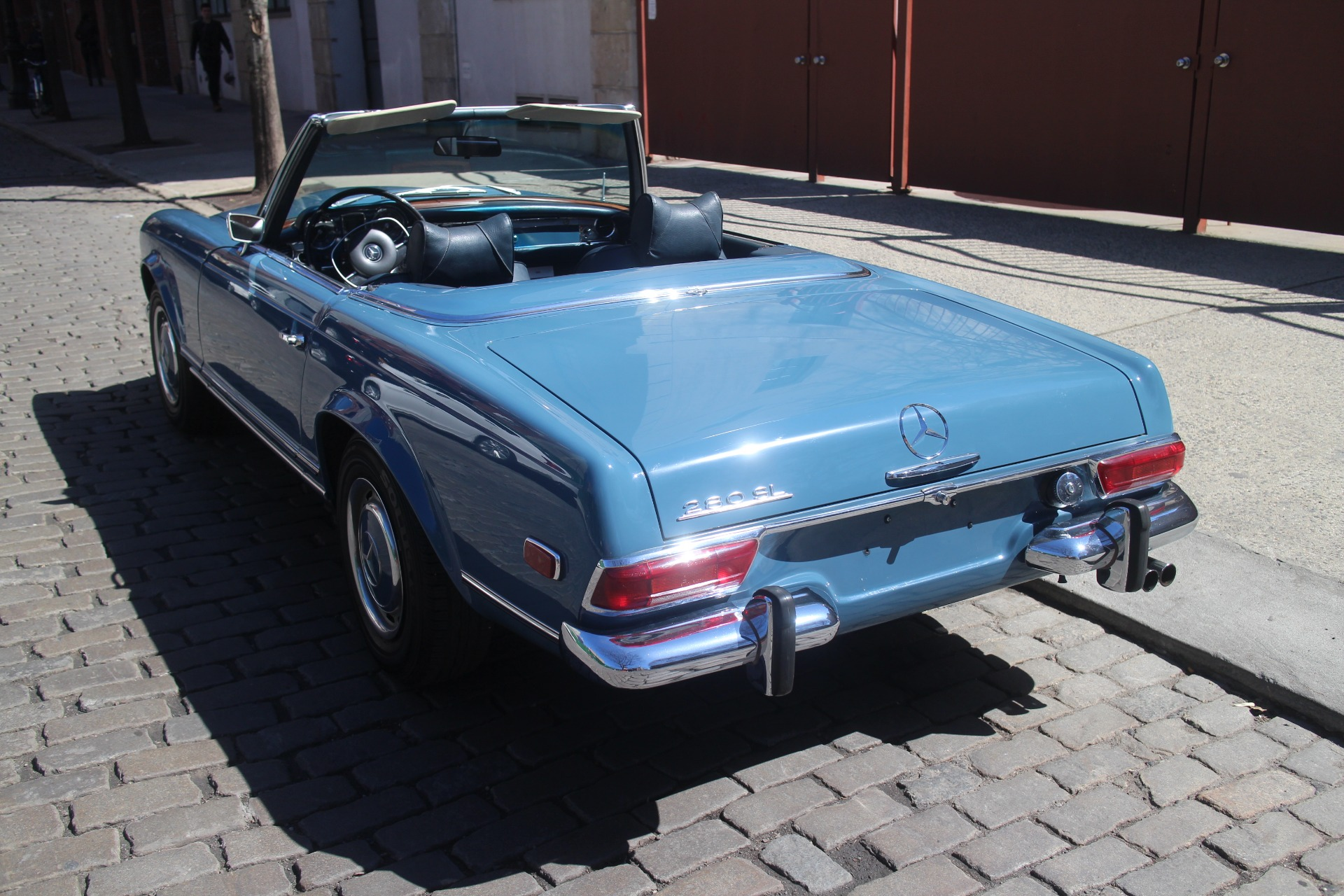 1969 mercedes benz 280sl stock 777 for sale near new for Mercedes benz nyc