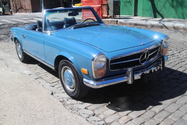 1969 mercedes benz 280sl stock 777 for sale near new for Mercedes benz of greenwich used cars
