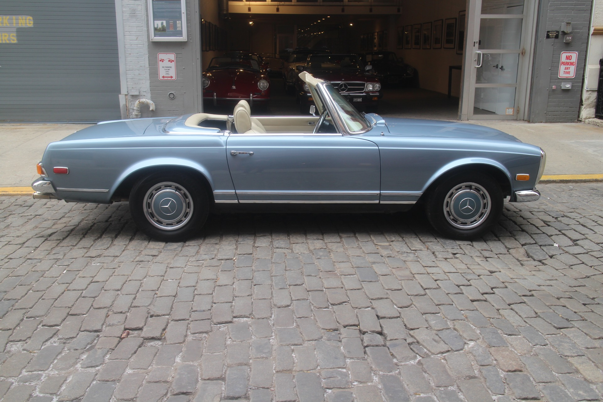 1971 mercedes benz 280sl stock 780 for sale near new for Mercedes benz in nyc