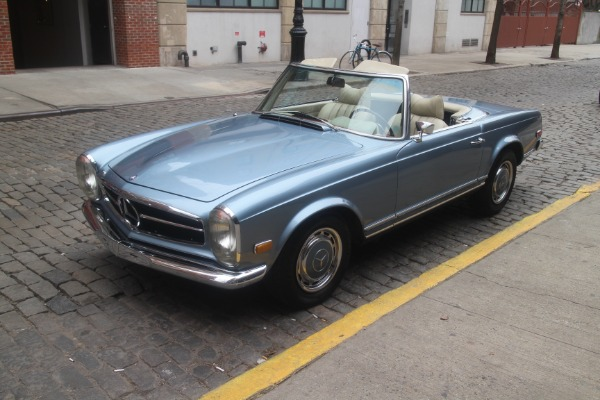 1971 mercedes benz 280sl stock 780 for sale near new for Mercedes benz of greenwich used cars
