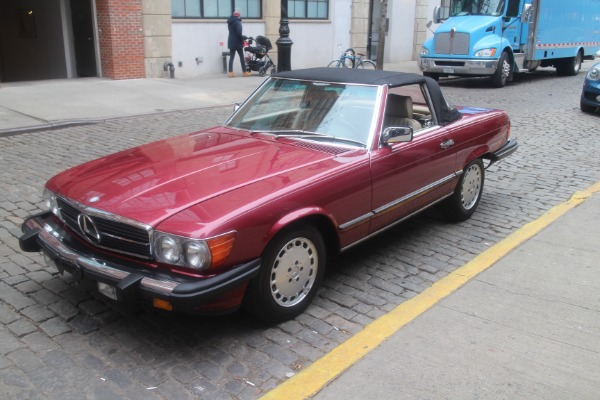1989 mercedes benz 560sl stock 781 for sale near new for Mercedes benz of greenwich used cars