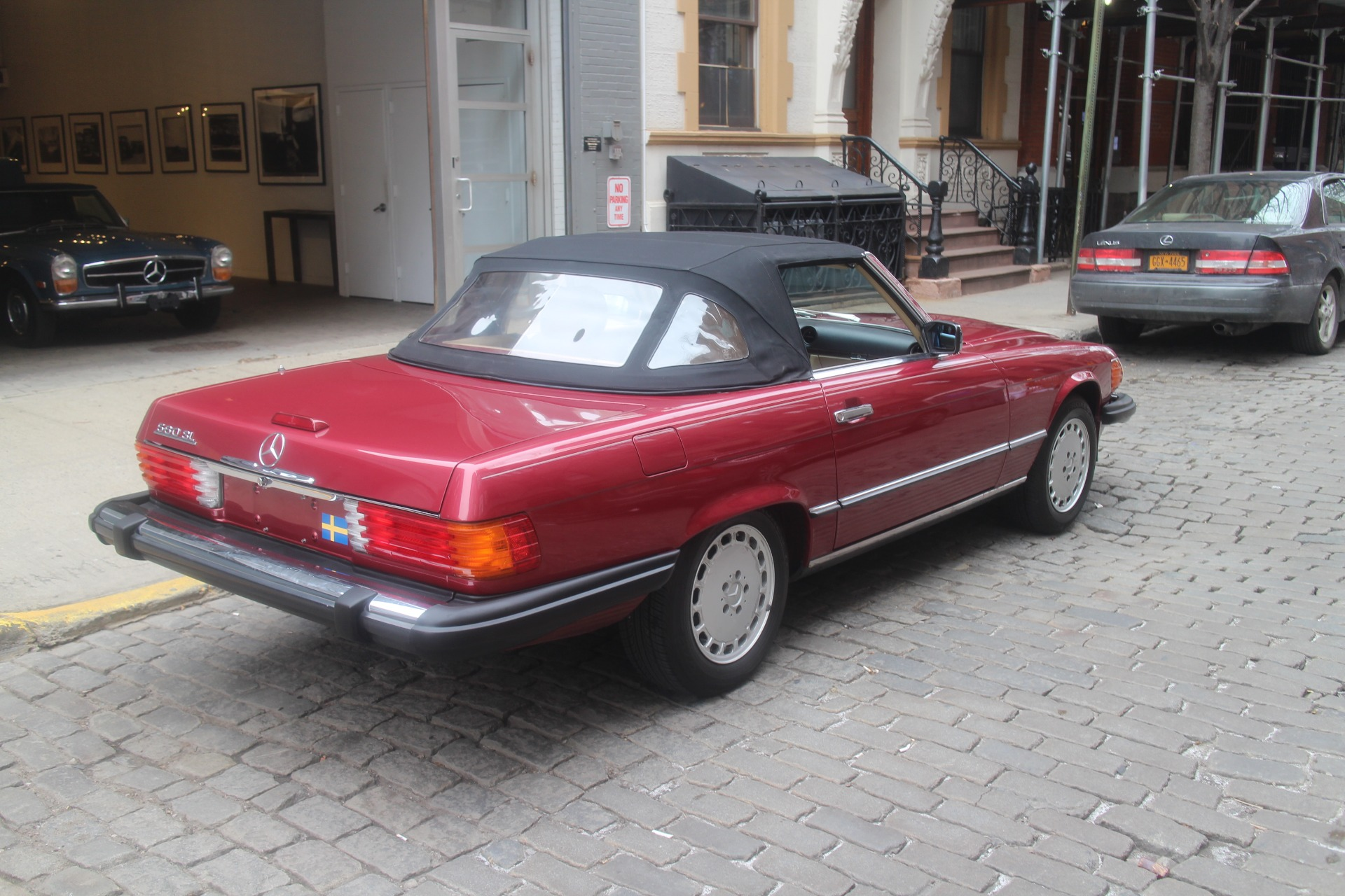 1989 Mercedes Benz 560sl Stock 781 For Sale Near New