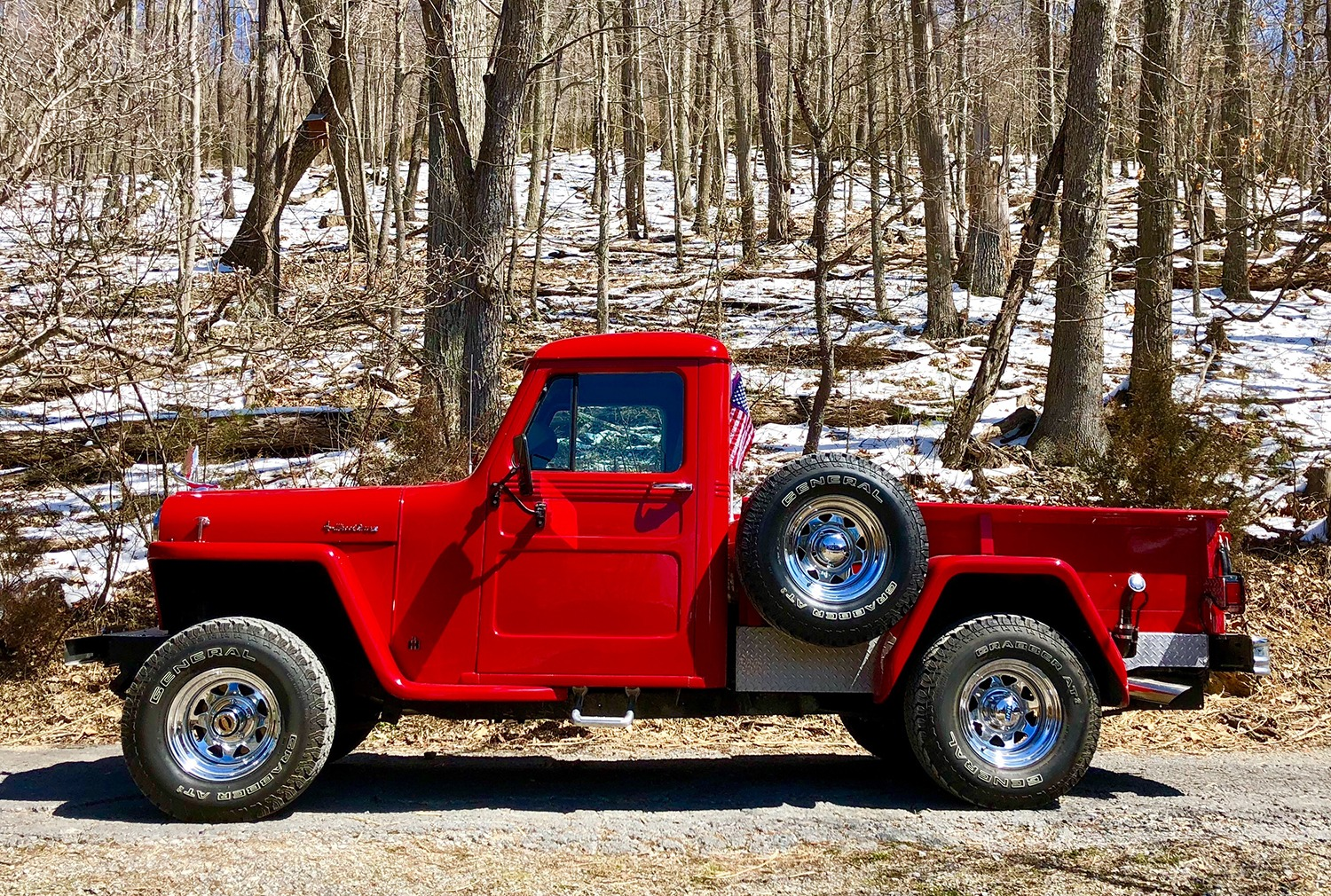 Used Rental Cars For Sale >> 1947 Jeep Willys Truck Stock # 1947WILLYSTRUCK for sale ...