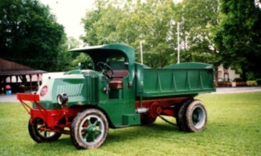 Used-1925-Mack-Chain-Drive-Dump-Truck