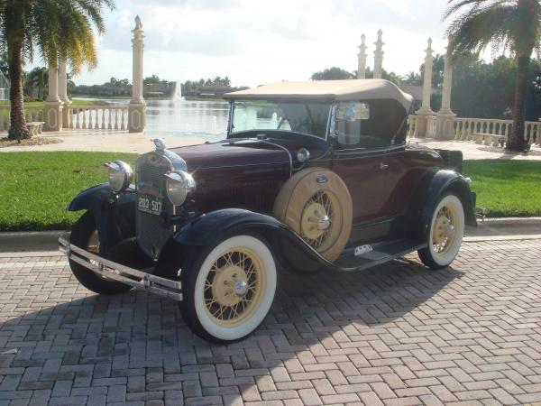 Used-1930-Ford-Model-A-DeLuxe-Roadster-30s-American