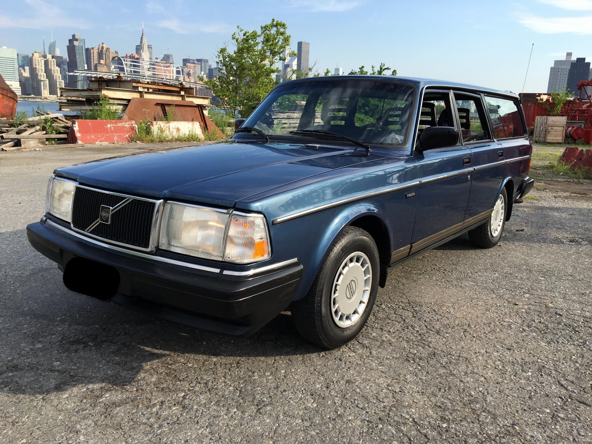 Buy used 1991 Volvo 240 Station Wagon Beautiful Shape, Low ...   1991 Volvo 240 Wagon