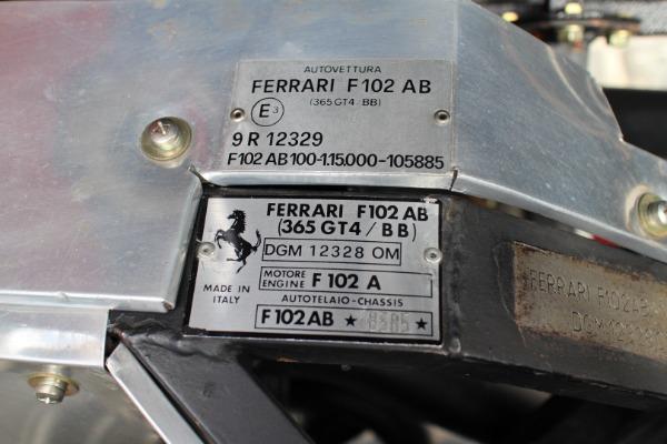 Used-1974-Ferrari-365GT4/BB