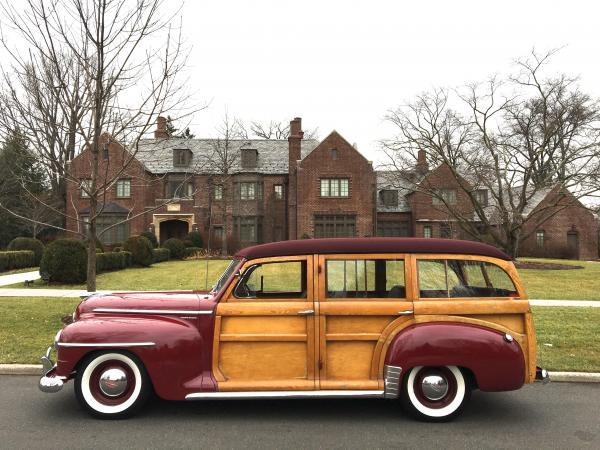Used-1947-Plymouth-P-15-Special-Deluxe-Station-wagon-40s-50s-American-Wagon-Wood