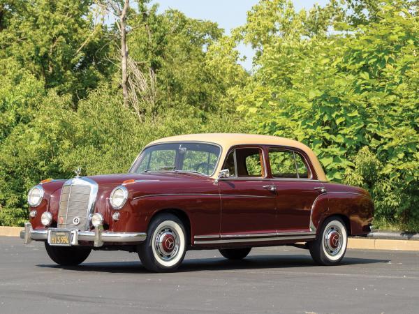 1957-Mercedes-Benz-220s-50s-60s-German-European-Sedan