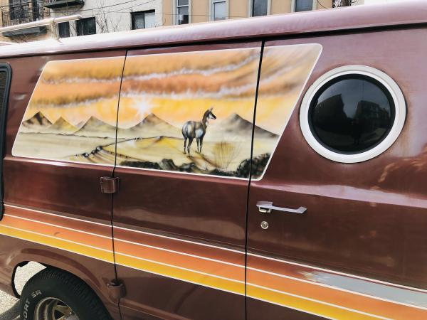 1977-Dodge-Tradesman-70s-American-Van