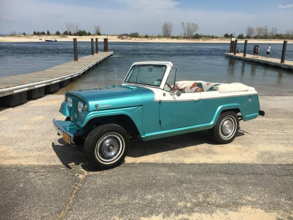 1968-Jeep-Jeepster-Convertible-60s-70s-American-Americana-Classic-Truck-Offroad