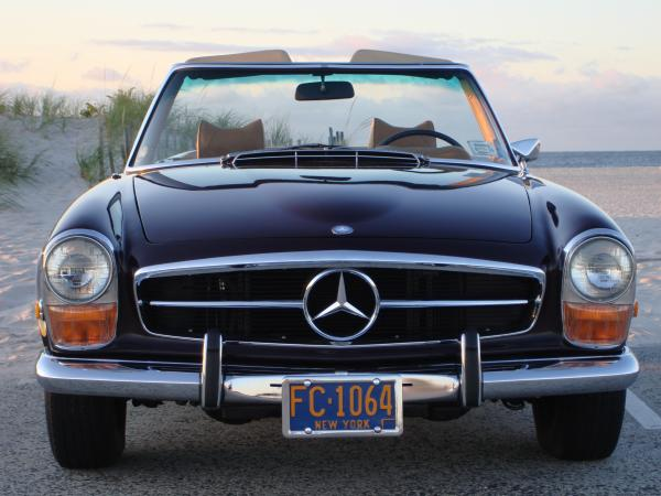 Used-1971-Mercedes-280sl-60s-70s-German-Roadster-Luxury-European