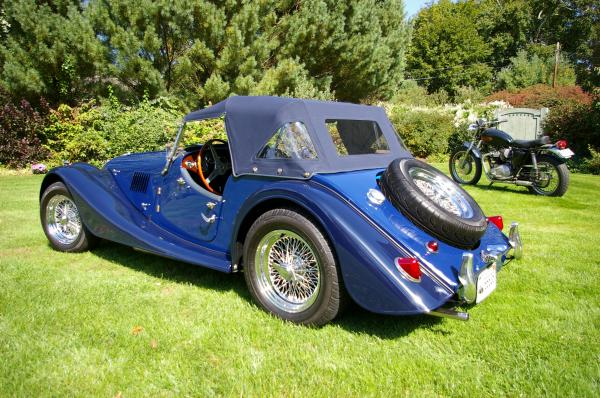 Used-1966-Morgan-4/4-GT-60s-70s-British