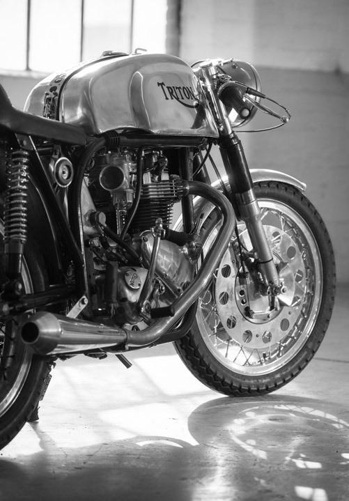 Used-1959-Triumph/Norton-Triton-50s-Motorcycle