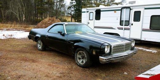 Used-1974-Chevrolet-El-Camino-70s-Muscle-Car-Nondescript-American