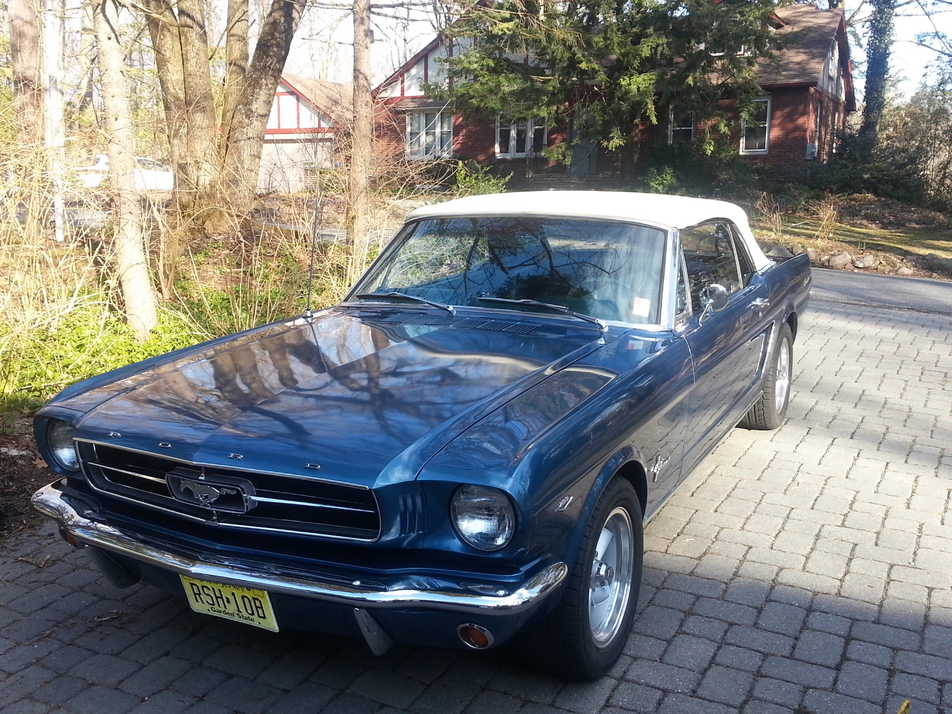1964 ford mustang stock 2375 1270111 for sale near new. Black Bedroom Furniture Sets. Home Design Ideas