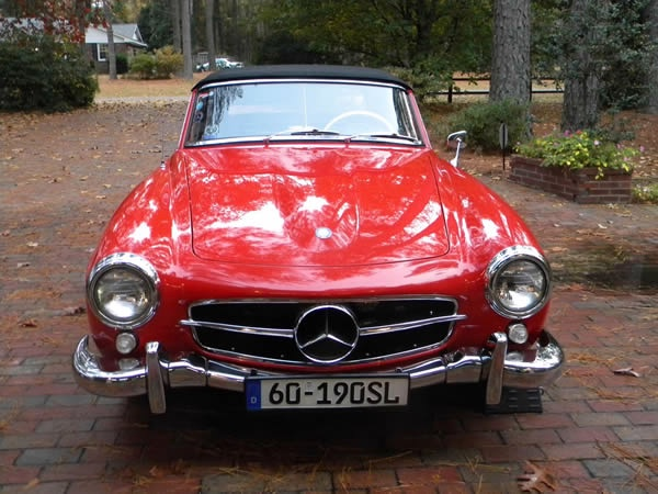 1960 Mercedes Benz 190 Sl Stock 1271 1175411 For Sale
